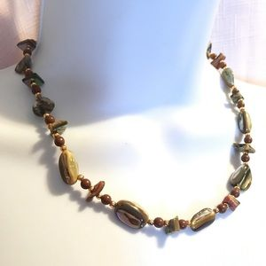 Vintage Abalone Shell Necklace